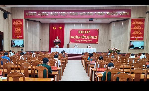 Hướng dẫn thực hiện các biện pháp hành chính phòng, chống dịch bệnh Covid-19 trên địa bàn tỉnh Kiên Giang theo Quyết định số 2148/QĐ-UBND ngày 06/9/2021 của Chủ tịch UBND tỉnh