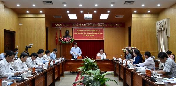 QUYẾT ĐỊNH - Tiếp tục áp dụng các biện pháp cấp bách phòng, chống dịch Covid-19 theo các Chỉ thị của Thủ tướng Chính phủ trên địa bàn tỉnh Kiên Giang